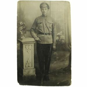 Details about Original WW1 Photo Imperial Russian Soldier in Uniform Medal  Eastern Front MC58