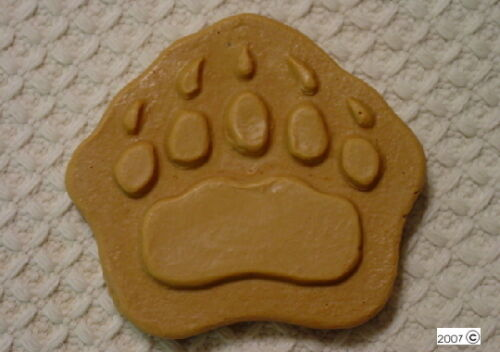 Bear Paw Claw Footprint Plaster or Soap Mold QTY 2-4645 Moldcreations