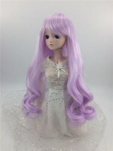 "New 1//4 Girl BJD SD Doll Wig Dollfie 7/"" DZ DOD LUTS Bjd Doll Wig Purple"