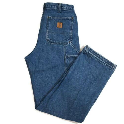 CARHARTT Utility Double Front Jeans 34x34 Original