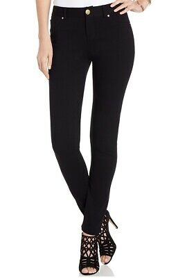 INC Curvy Velvet Skinny Pull-On Pants Color Deep Black NEW Size 18 MSRP $69.5