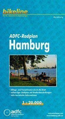 Bikeline Radplan Hamburg. 1 : 20.000, reißfest, GPS-taug... | Buch | Zustand gut