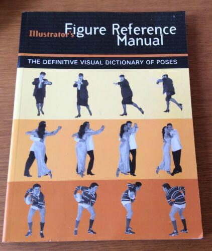 1 of 1 - Illustrator's Reference Manual - Visual Dictionary Poses - Art - Drawing -p/b