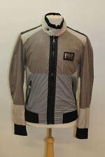 DOLCE & GABBANA Men's Multi-coloured Stand Collar Windbraker Jacket EU52 UK42
