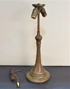 Handel-Style-Lamp-base-Arts-amp-Crafts-Art-Nouveau