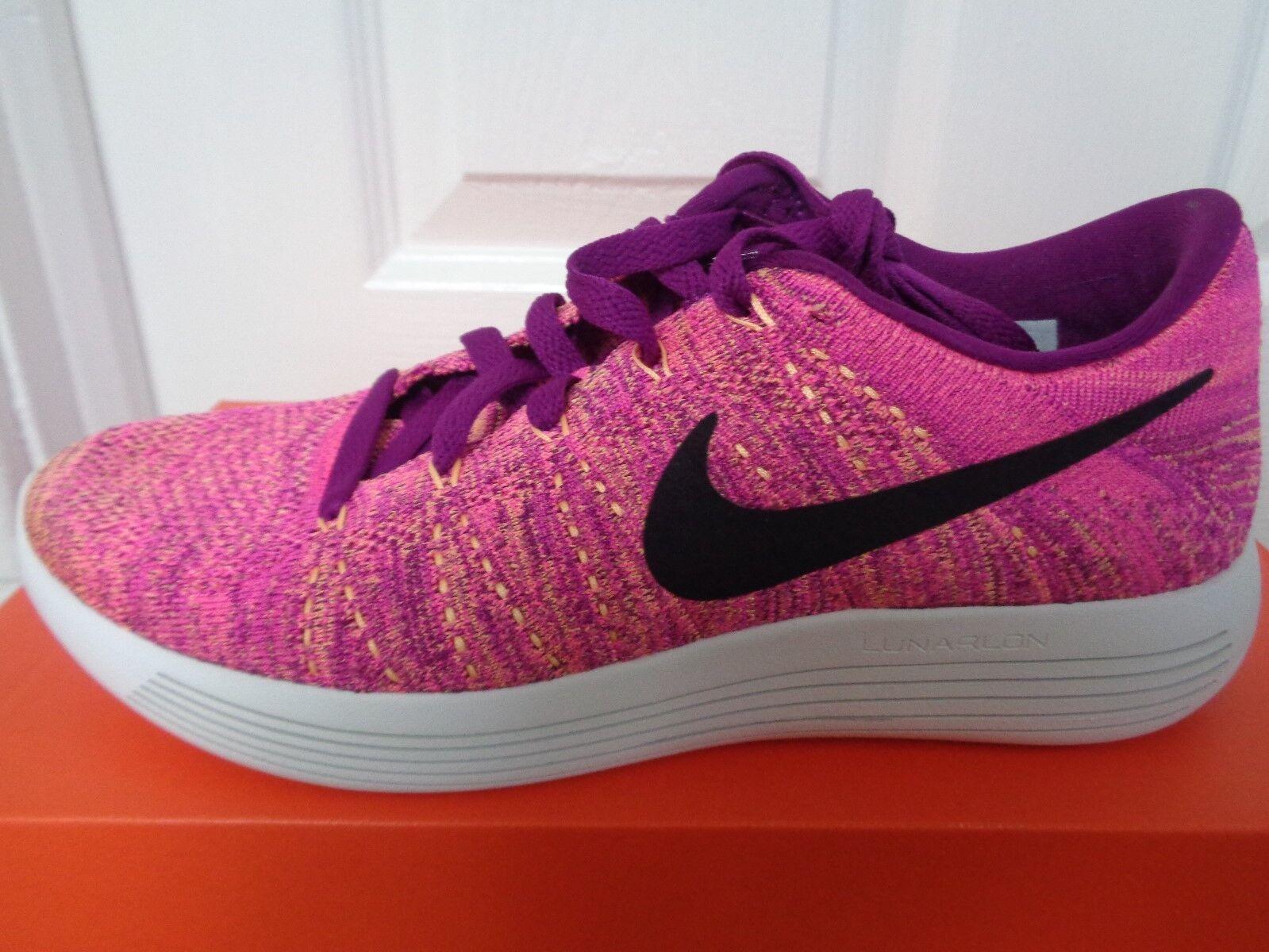 Zapatillas Nike lunarepic bajo Flyknit Wmns SUECO 843765 500 nos 8.5 Nuevo + Caja