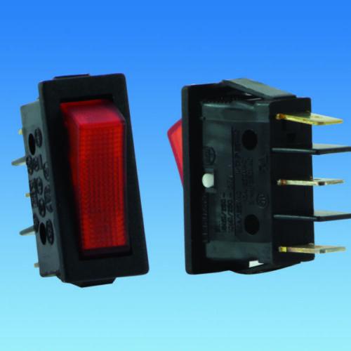 Caravan//Motorhome 240 Volt Illuminated 2 Way Switch 320005