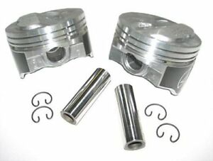 Speed Pro H634CP60 Small Block Chevy 400 412 .200 Dome Hyper Pistons 060 SBC 5.7