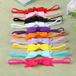 10pcs-Newborn-Baby-Girl-Infant-Toddler-Headband-Bow-Ribbon-HairBand-Accessory-SE