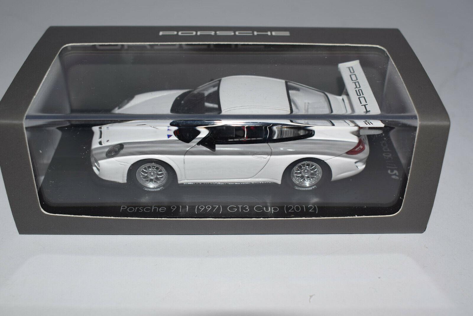 Porsche 911 (997 II) gt3 Cup Plainbody cartima CA 04312008 Spark 1 43 neuf dans sa boîte