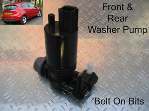 Vorne & Hinten Waschanlage Pumpe Ford Fiesta 2008 2009 2010 2011 58 59 60 61 12