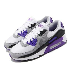 Details about Nike Air Max 90 OG White Hyper Grape Purple Womens Casual Shoes CD0490 103