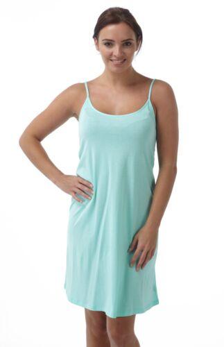Slip Range of Colours Nightie Ladies Soft Touch Chemise