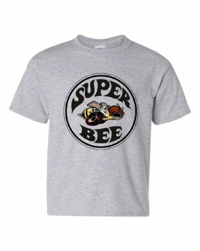 Dodge Super Bee Youth T-Shirt American Muscle Car Tee