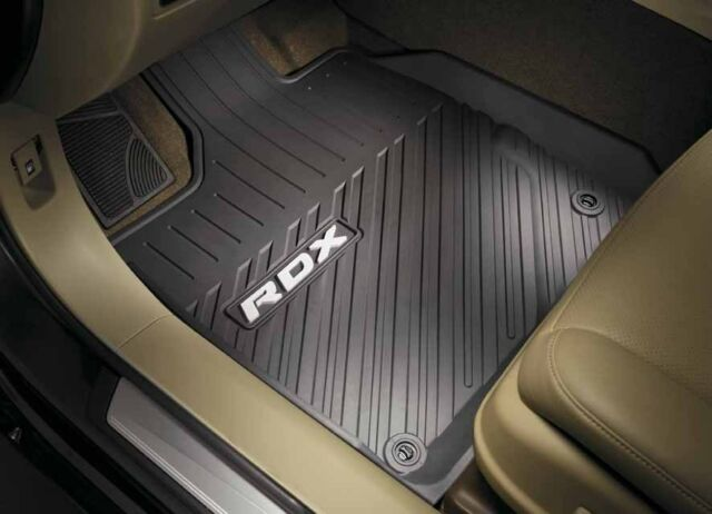 Genuine OEM 2016-2018 Acura RDX All Season Floor Mats (BASE) (4 Way-High Wall)