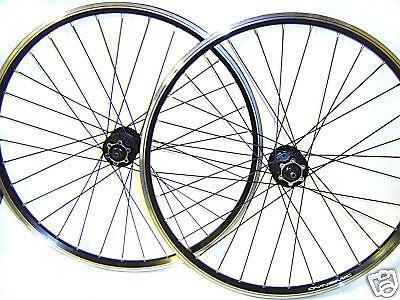 MTB 26  ruedas Shimano Deore 475 Disc negro radios freno de disco nuevo