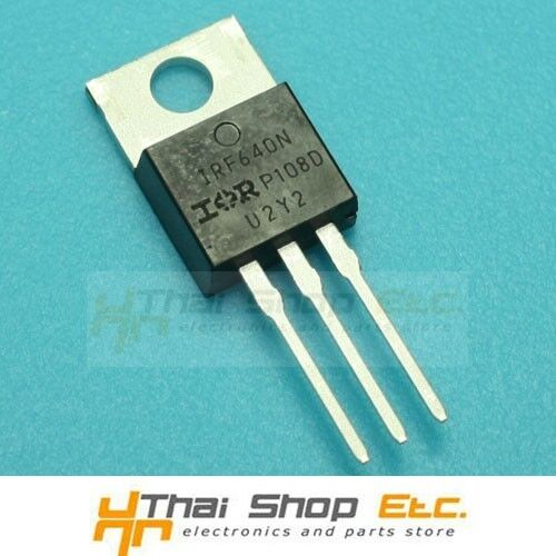 20 pcs IRF640NPBF IRF640N IRF640 Power MOSFET N-Channel 18A 200V