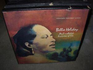 Billie Holiday Aint Nobodys Business If I Do Jazz 4lp Box