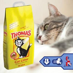 Thomas-Cat-Litter-Pet-Supplies-Natural-Mineral-Cat-Litter-Hygiene-16L-Cleaning