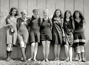e64d40f47e0af Image is loading Flapper-Girls-Swimsuits-Photo-1920s-Flappers-Jazz- Prohibition-