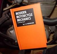Modern Motorcycle Mechanics, J.b. Nicholson, New, Hardcover Book & Vincent Decal