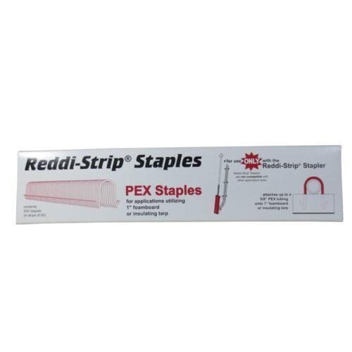 Reddi-Strip Foamboard Staple Clips for PEX S5RE-13 Peter Mangone