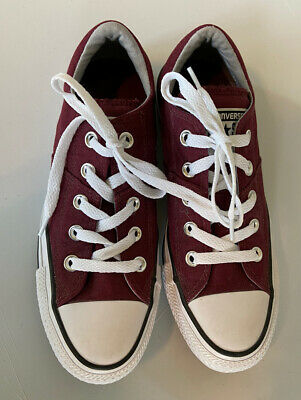 Converse All Star Maroon Burgundy Low