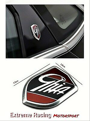 2 Stemmi Logo adesivo Ghia per Ford Focus Mondeo Fiesta Kuga Ecosport Fiesta