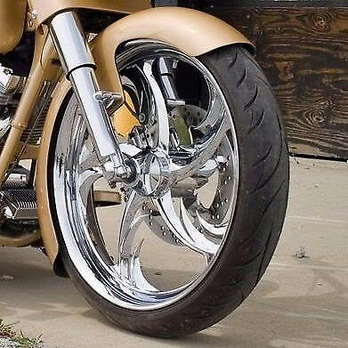 """16/"""" 21/"""" Indian style front fender Baggers Touring FLH Harley Davidson"""