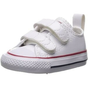 Converse Chuck Taylor All Star 2V Optische Weiß Leder Baby