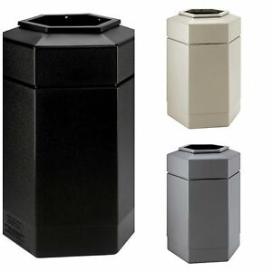 30 Gallon Trash Can Lid Ptc Large Kitchen