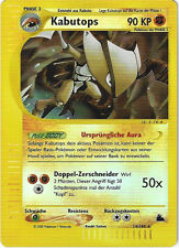 CCG 31 Pokemon Skyridge Reverse Holo Kabutops 14/144 Deutsche Karte