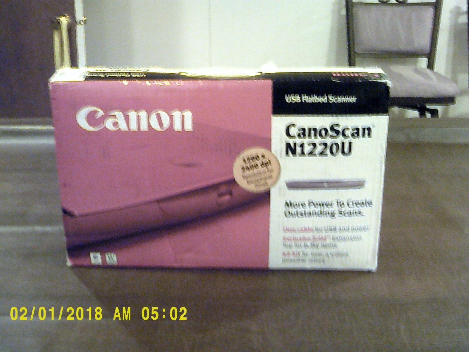 CANON SCANNER N1220U DRIVER FREE