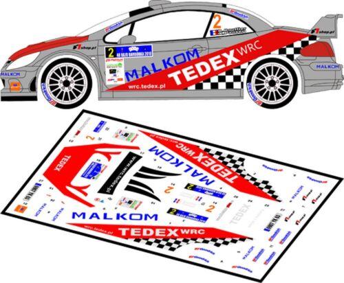 MFZ D43038 RALLYE DE BARBORKA 2010 DECALS 1//43 PEUGEOT 307 WRC  #2 BOUFFIER