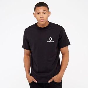 black converse t shirt