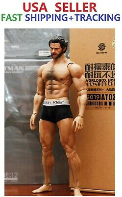 WorldBox 1//6 Muscular Wolverine Body Logan Strong Durable Male Figure ❶USA❶