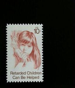 1974-10c-Retarded-Children-Can-Be-Helped-Scott-1549-Mint-F-VF-NH
