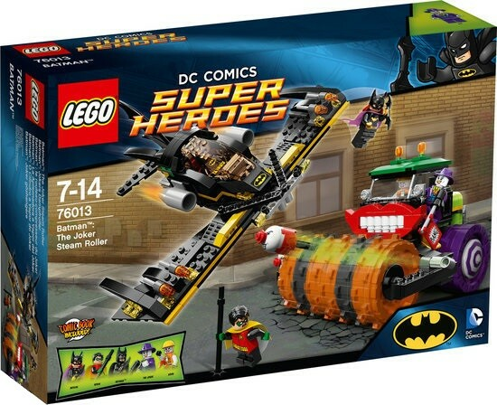 Lego Super heroes, 76013 The Joker Steam Roller, Lego 76013…