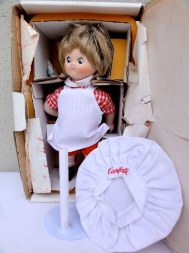 Danbury Mint Campbell Kids Soup The Dancing Chef Doll In Box Complete