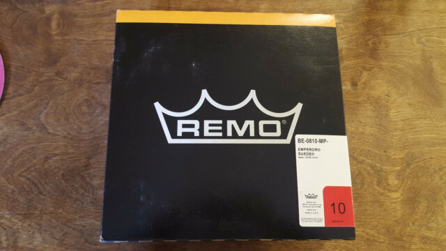 """Remo Drumhead Emperor Suede BE-0810-MP 10"""""""