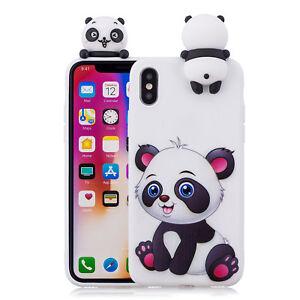 coque iphone 8 panda silicone