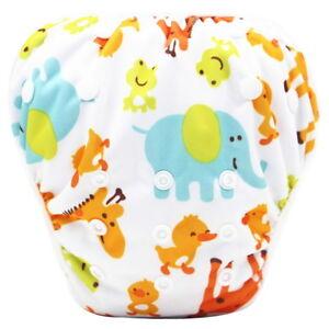 Reusable Swim Nappy Pant Diaper Newborn Baby Toddler Swimming Unisex Boy Girl