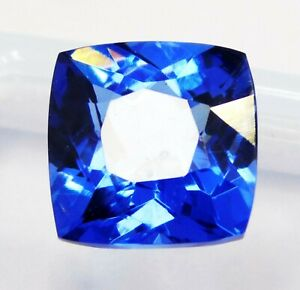 Natural-CERTIFIED-Cushion-Cut-10-Ct-Blue-Sapphire-Loose-Gemstonee