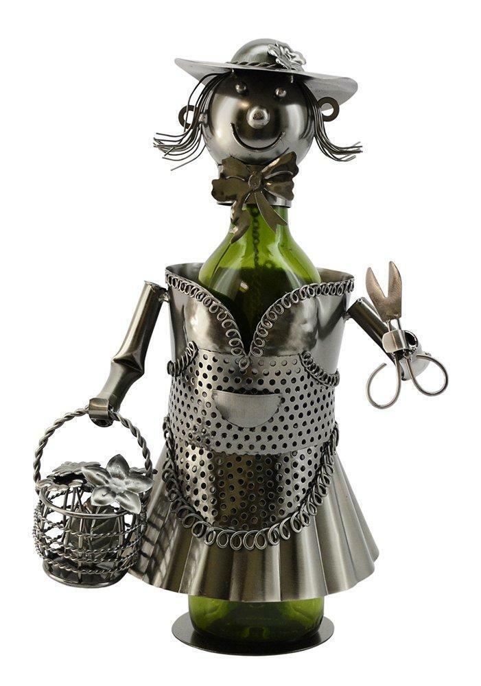 (D) Cadeau pour Neighbors Porte Bouteille Vin lady gardener, bar comptoir Décoration