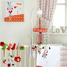 Red Kite Cotton Tail Musical Carousel Wind Up Baby Unisex Cot Mobile