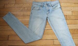 Cheap-Monday-Jeans-pour-Femme-W-25-L-32-Taille-Fr-34-Ref-G023