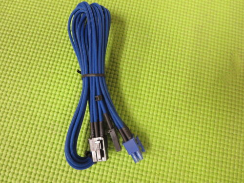 HX series Corsair 8 PIN TO 6+2 PIN PCIE cable for TXM Blue
