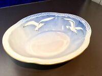 Bing & Grondahl Gabbiani Cestino Ovale Filo Oro - 573 - Seagull Oval bowl