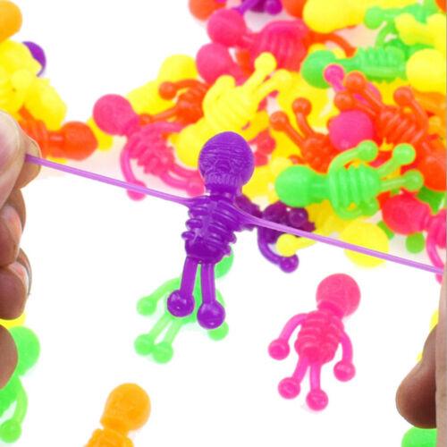 5Pcs anti stress TPR skeleton zombie model novelty & gag decompression toys