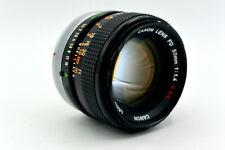 Canon 50mm f/1.4 S.S.C. Manual Focus FD-Mount Prime Lens